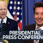 Biden Taps Harris for Border Crisis, New York to Legalize Weed   The Tonight Show