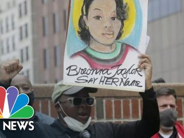 Activists Rally Around Breonna Taylor One Year After Her Death | NBC News NOW