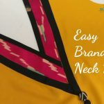 Simple V Neck Design for Kurti /Easy Cutting and Stitching 1
