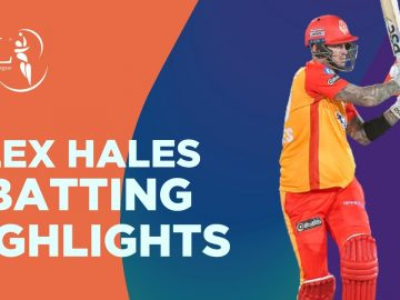 Alex Hales Batting Highlights | Karachi Kings vs Islamabad United | Match 6 | HBL PSL 6 | MG2T