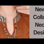 Collar Kurti Front Neck Design With V Placket || Collar Neck Design || Easy Cutting and Stitching 3