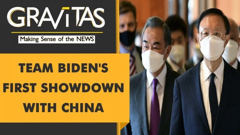 Gravitas: US & China engage in undiplomatic sparring match