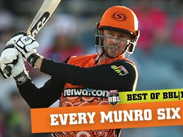 Every six: New Scorcher Munro sizzles in BBL|10