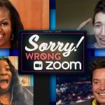 Michelle Obama and Jimmy Crash Random Zoom Meetings | The Tonight Show Starring Jimmy Fallon
