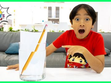 3 Water Easy Science Experiments for kids to do at home! 8