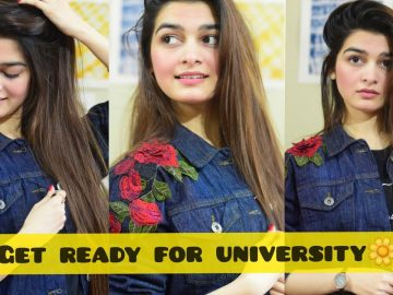 Get ready for University | Basic Makeup | Everyday look | High end stuff | Tutorial 1