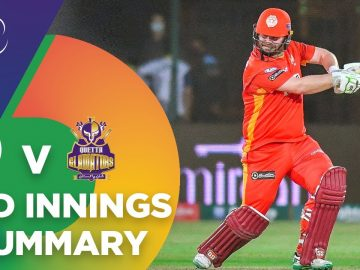 2nd Innings Summary | Islamabad United vs Quetta Gladiators | Match 12 | HBL PSL 6 | MG2T