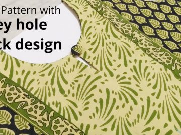 Branded Kurti Neck Design Yoke pattern Easy & Simple Cutting and Stitching||Beginners 17