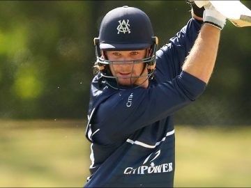 Handscomb continues hot form with lone-hand 95   Marsh One-Day Cup 2020-21