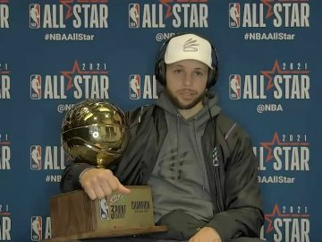 LIVE: 2021 #NBAAllStar Postgame Press Conference