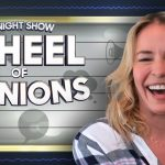 Wheel of Opinions with Chelsea Handler | The Tonight Show Starring Jimmy Fallon