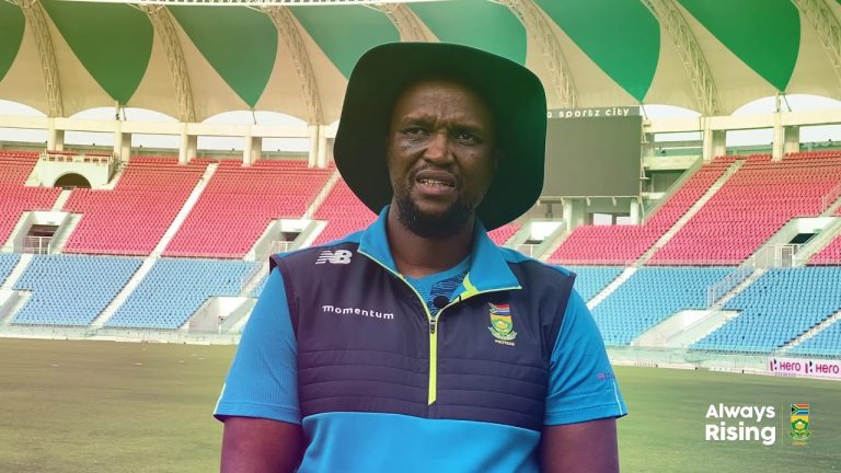 Hilton Moreeng shares his thoughts on the team's performance in the ODI series win over India