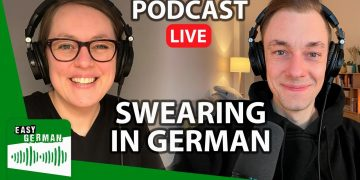 How to Swear in German | Easy German Podcast 163 (LIVE)