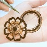 Eid Mehndi designs 2020 new style simple for beginners - Beautiful Mehendi design for front hands 1