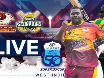 🔴LIVE Leeward Islands vs Jamaica | CG Insurance Super50 Cup 4
