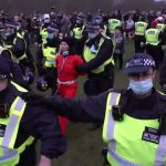 Anti-lockdown protesters clash with police in London rally