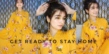 GET READY WITH ME TO STAY HOME || Summer Makeup || Styling 5