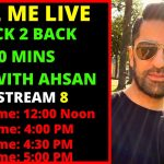 Live with Ahsan Hayat | Q & A Session | Life in Germany | 8th Live Show