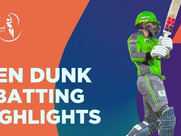 Ben Dunk Batting Highlights | Lahore Qalandars vs Karachi Kings | HBL PSL 6 | Match 11 | MG2T