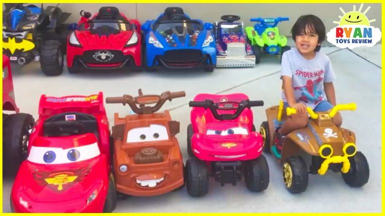 Ryan's Power Wheels Collections Ride On Car! 1