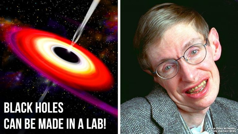 What If We Created a Black Hole on Earth? (We can!)