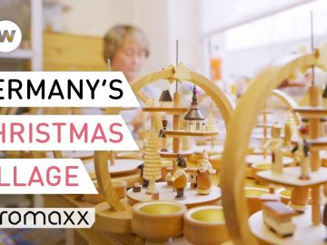 In This East German Village It's Christmas All Year Round | Christmas Village Seiffen