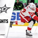 Red Wings @ Stars 1/28/21 | NHL Highlights