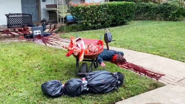 Cops Have Been Called 3 Times About This Halloween Display