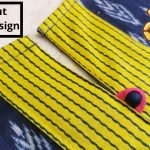 Easy Round Neck with V Placket /Potli Buttons (neckdesign) 1