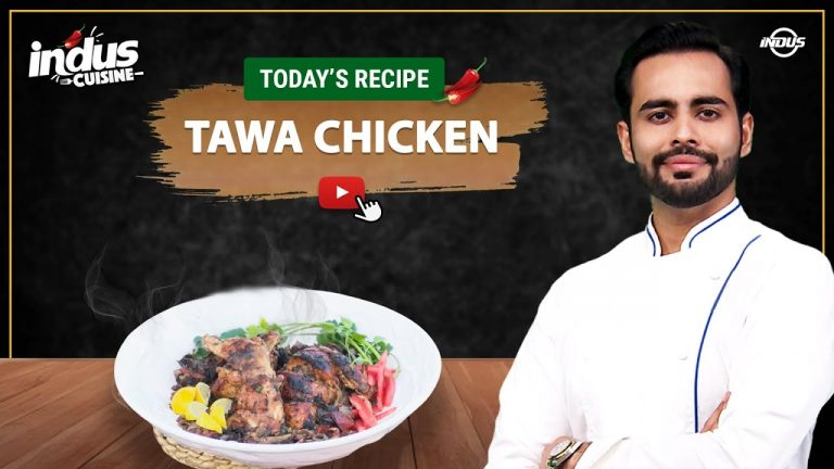 Indus Cuisine with Chef Basim Akhund | TAWA CHICKEN | Episode 53 | Indus News