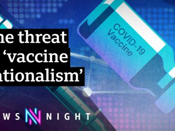 Covid: UK fighting patent-free Covid vaccine proposals - BBC Newsnight