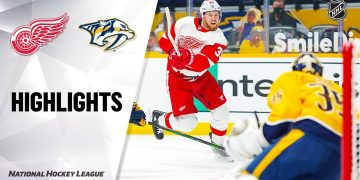 Red Wings @ Predators 2/13/21 | NHL Highlights