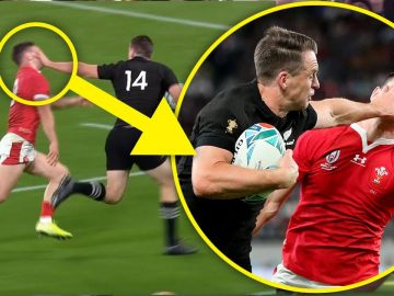 Hand meets Face! | Rugby's GREATEST Hand-Offs!