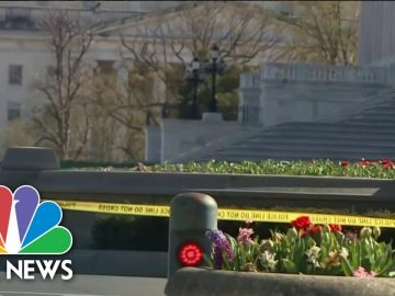 New Details In Vehicle Attack at U.S. Capitol | NBC Nightly News
