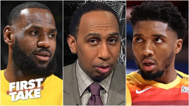 Stephen A. isn't sold on the Jazz being a real threat to the Lakers   First Take