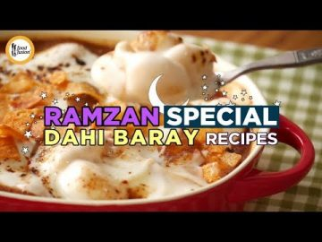 Ramzan Special Dahi Bara/Bhalla Recipes by Food Fusion