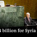 Syria donor conference falls short of $10 billion goal | DW News