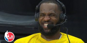 LeBron James, Richard Jefferson engage in hilarious postgame interview | NBA on ESPN