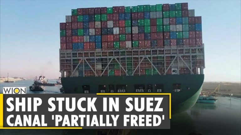 News Alert: Ever Given ship blocking Suez Canal successfully 'refloated' | Latest English News