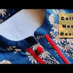 Popular Collar Neck Design with V Placket | Collar Neck Cutting and stitching(Neck Design) 1