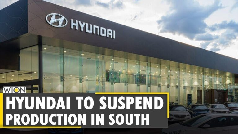 World Business Watch: Hyundai to suspend production in South Korea due to chip shortage | WION News