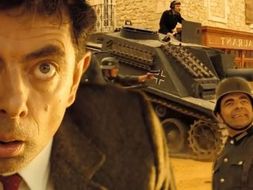 Bean's War Movie?! | Mr Bean's Holiday | Mr Bean Official