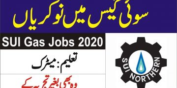 Sui gas jobs 2021,Apply Before last date