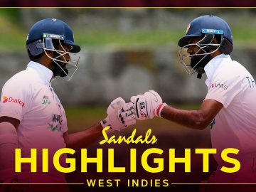 Highlights | West Indies vs Sri Lanka | SL Bat Final Day to Draw | 2nd Sandals Test Day 5 2021