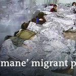 A look inside a US migrant facility overcrowded with minors   DW News