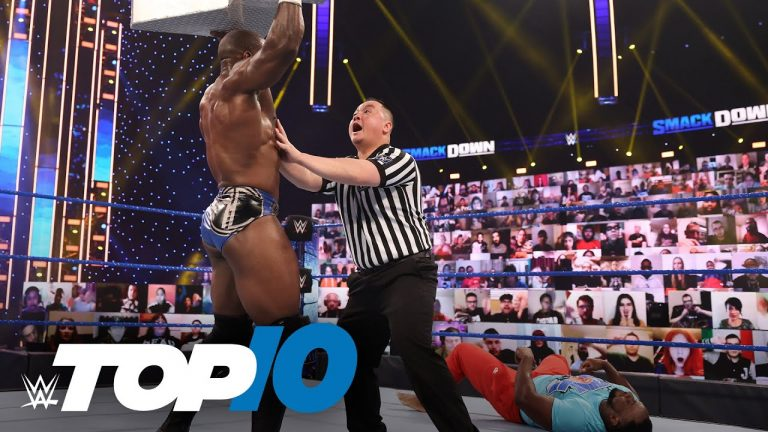 Top 10 Friday Night SmackDown moments: WWE Top 10, Feb. 19, 2021