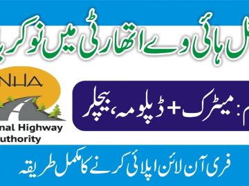New Jobs in NHA   National Highway Authority Jobs   NHA Jobs   How To Get Highway Jobs   SayJobCity