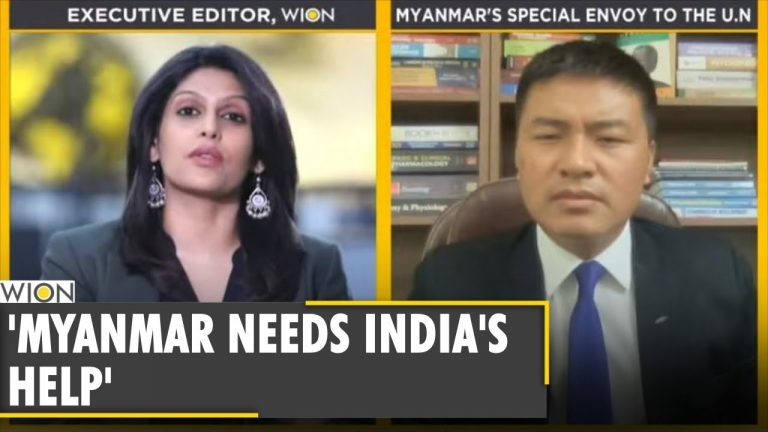Straight Talk: Myanmar's Special Envoy to UN speaks to Wion