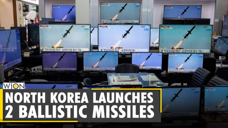 North Korea launches 2 ballistic missiles into Sea of Japan | Sergey Lavrov | Seoul | World News