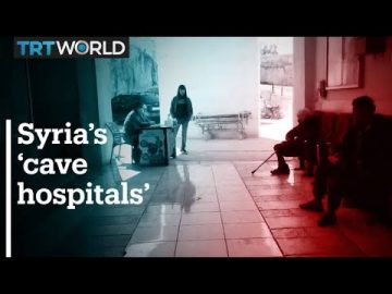 Syria's underground cave hospitals are critical for survival